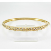 Esfinge Jóias - Bracelete De Diamantes Ouro Amarelo 18k 750.