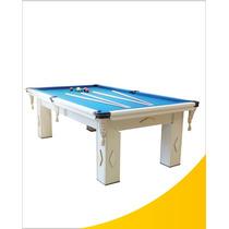 Mesa De Snooker Residencial Com Pedra Ardósia - Procopio