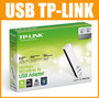 Adaptador Usb Wireless Tp-link Tl-wn721n 150 Mbps Lacrado