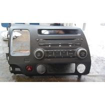 Radio/cd Player Original Com Mp3 Honda New Civic