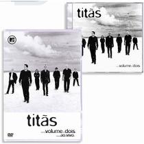 Titãs Dose Dupla Vip Vol. 2 Dvd + Cd Original Novo Lacrado