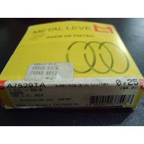 Anel Segmento Biz 100 / Dream 100cc / 0,25mm Metal Leve