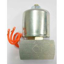 Válvula Solenóide 8mm Suspensão A Ar Mola E Êmbulo Em Inox