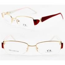 Armação Óculos Metal Fio De Nylon + Brinde Especial - 3811