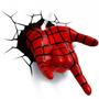 Nova Luminária De Parede Mão Homem Aranha 3d Light Fx