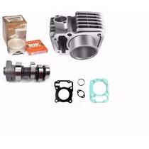Kit Preparado 170cc De Competicao P/ Titan 150 Pistao 4mm