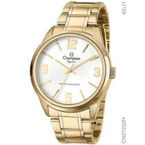 Relógio Champion Dourado Elegance Original - Líder De Vendas
