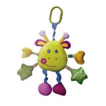 Mobile Animail Musical Colorido Buba Toys
