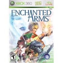 Jogo Semi Novo Enchanted Arms Para Xbox 360