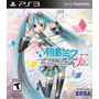 Hatsune Miku Project Diva F 2nd Ps3 Novo Lacrado Frete R$ 12