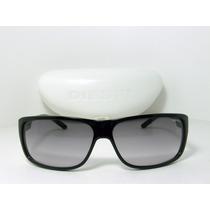 Lindo Óculos De Sol Diesel Ds0158 4r2 Preto Lente Degradê
