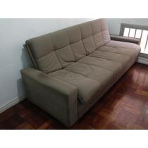 Sofa De 4 Lugares Reversível Para Cama