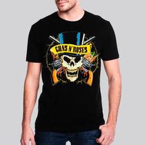 Camiseta Guns N Roses Hat Masculina - Ar