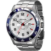 Relógio Seculus Masculino Long Life 28418g0svna2
