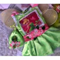 Vestido Sininho -vestido Tinker Bell - Fantasia Sininho -tin