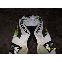 Calça Para Motocross Infantil Marca Thor Tamanho 26