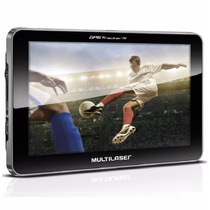 Gps Tela 7`` Touch Com Tv Digital Tracker Ill Fm Multilaser