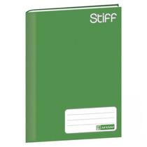 Caderno Brochura Capa Dura 48 Folhas Stiff Jandaia - Verde