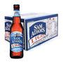 Cerveja Samuel Adams Light - Caixa 24 Long Neck 355ml.