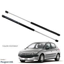 Amortecedor Tampa Traseira Porta Malas Peugeot 206 - S/juros