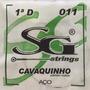 Corda Para Cavaco Cavaquinho Avulsa 1 D Ré Aço Sg 3787