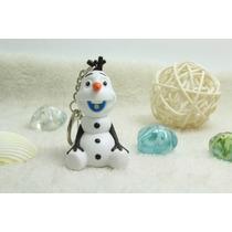 Chaveiro Frozen - Olaf Com Led E Som Lembrança Festa