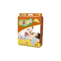 Fralda Hipopó Baby Laminado Pacote Mega - Tamanho G - 70un