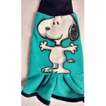 Roupa Para Pinscher Com Babado Snoopy Tam 0 #lindoooo