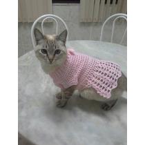 Roupa De Gato E De Cachorro Em Croche