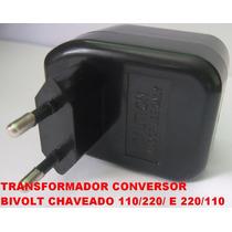 Transformadores Mini Conversor De Voltagem Bivolt Chaveado