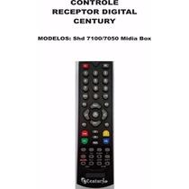 10 Controles Receptor Digital Century Midia Box Shd7100