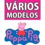 Mega Painel Decorativo P/ Festa Peppa Pig Vários Modelos