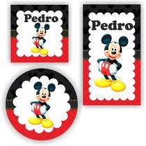 Kit Digital Mickey Lembrancinhas Rótulo P Imprimir
