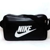 Bolsa Carteiro Modelo Nike Masculino Preto Azul Vermelha