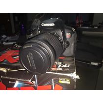Canon T4i Lente 18-55mm ( Para Reparar)