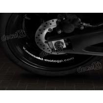 Adesivos Centro Roda Refletivo Moto Kawasaki Rd13 - Decalx