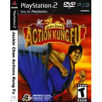 Jackie Chan Action Kung Fu - Playstation 2 - Play 2 - Ps2