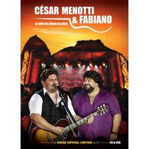 Dvd + Cd Cesar Menotti & Fabiano - Ao Vivo No Morro Da Urca