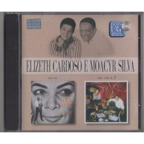 Cd Elizeth Cardoso E Moacyr Silva - Sax Voz 1 E 2 - Novo