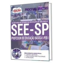 Apostila Preparatória See Sp - Professor - Peb I