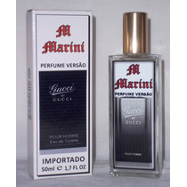 Perfume Versão Gucci By Gucci Pour Homme Import. Masc 50 Ml