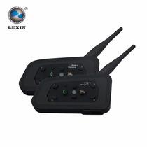 Intercomunicador Bluetooth Para Até 6 Motos (duas Peças/par)