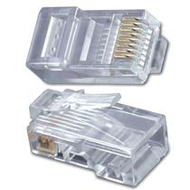 Pacote C/100 Conector Rj-45 (ideal Para Tp Link Dlink Cisco)