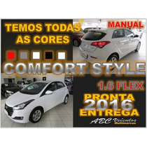 Hb20 Comfort Style Manual 1.6 Flex - 16 Pronta Entrega D049