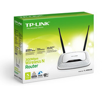 Roteador Wireless Tp-link Wr841n 300mbps 2 Antenas De 5 Dbi