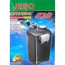 Filtro Canister Jebo 838 1200 L/h 110v Com Mídias Filtrantes