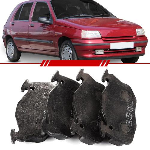 Jogo Past Freio Diant Renault Clio 91 A 98 Express 98 A 00