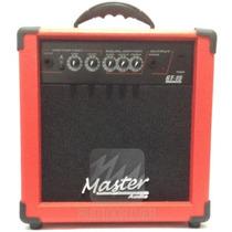 Cubo Para Guitarra Gt15 Master Amplificador 15w Vermelho