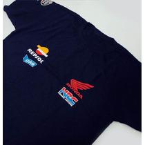 Camiseta - Equipe Honda Repsol Moto Gp - Tam Eg - Fr071