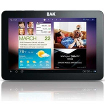 Tablet Bak 7400 Wifi 3g 4gb Android 4.0 Hdmi Cpu 1.2ghz